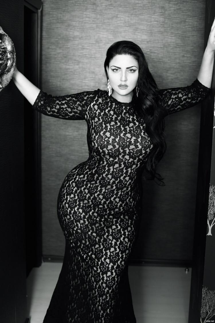 verführerische Kleider in großen Größen schwarze Abendkleider Spitzenkleid