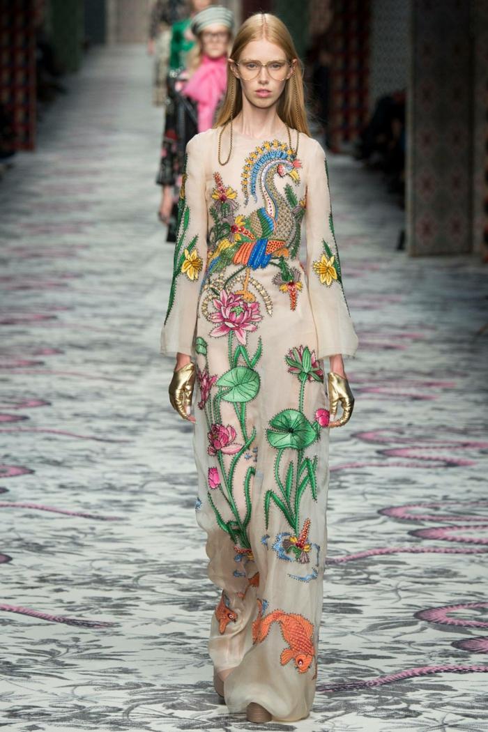 vintage kleider damenmode neue tendenzen frühling sommer kollektion dolce gabbana
