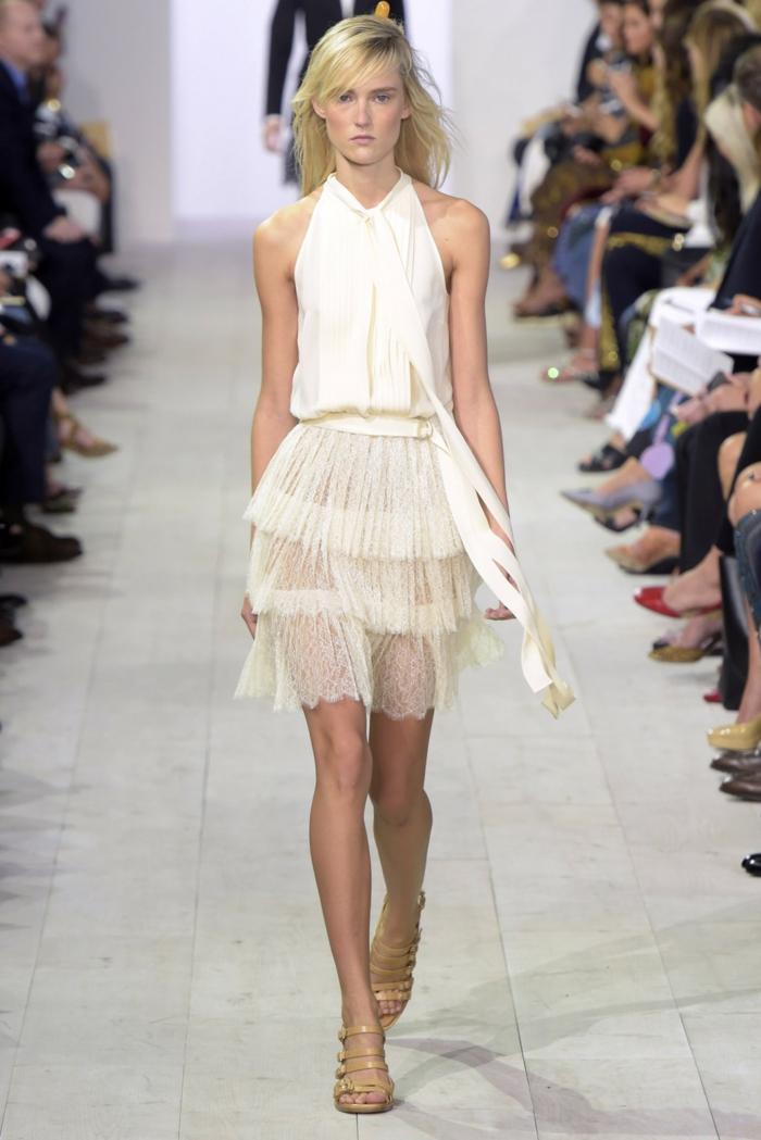 vintage kleider damenmode neue tendenzen 2016 sommer michael kors
