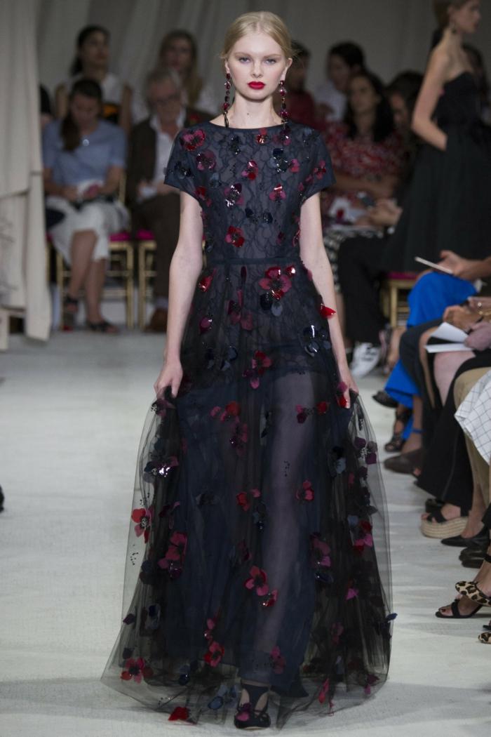 vintage kleider new york fahion week 2016 damenmode oscar de la renta kollektion