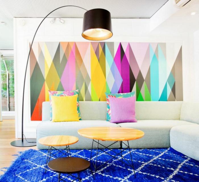 union der figuralen muster trend 2016 beim w nde gestalten. Black Bedroom Furniture Sets. Home Design Ideas
