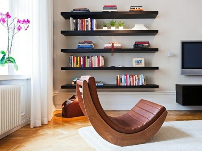 wandregal selber bauen wohnzimmer diy möbel