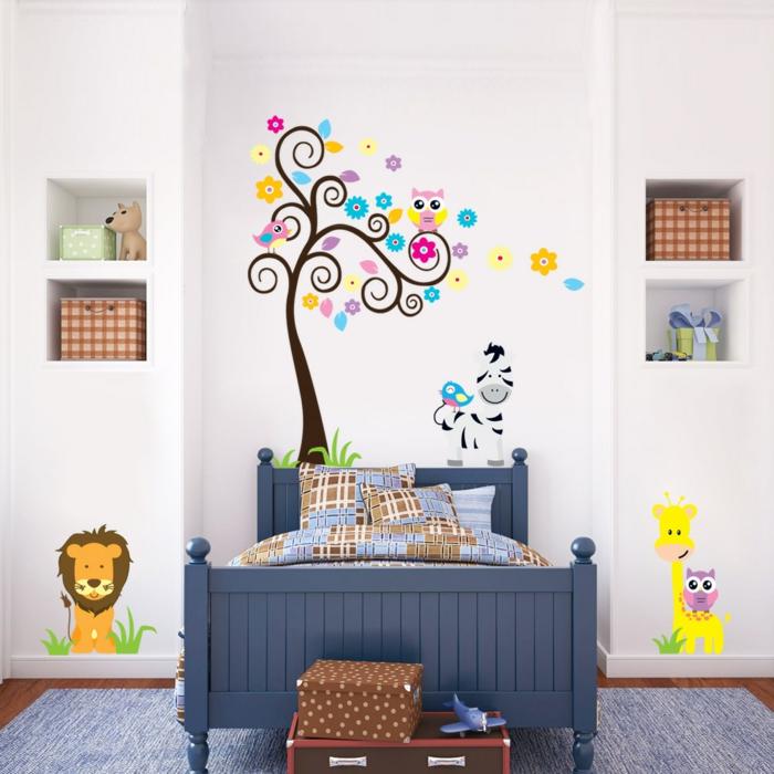 wandtattoo kinderzimmer aliexpress kinderteppich weiße wände