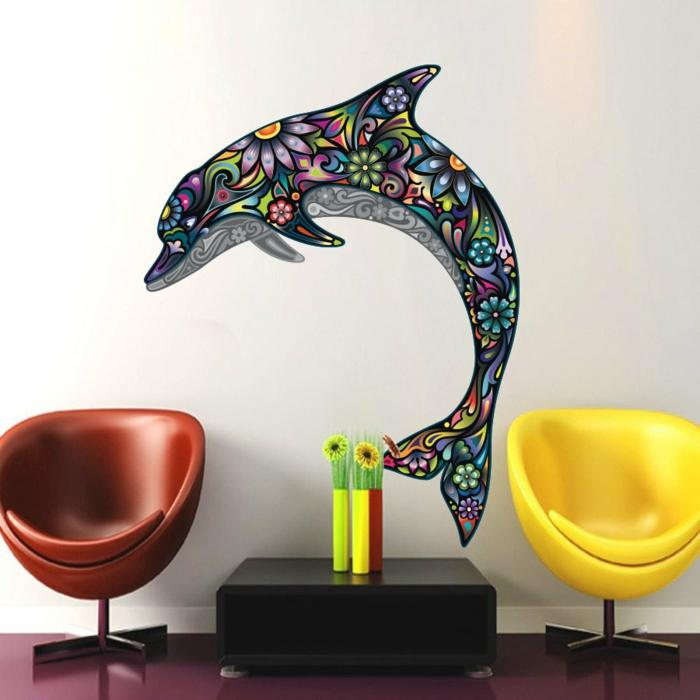 wandtattoo wohnzimmer etsy frisch farbig krasse möbel
