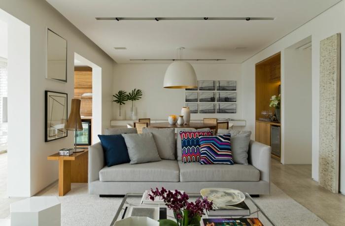 hangeleuchte wohnzimmer modern luminex pendelleuchte noak