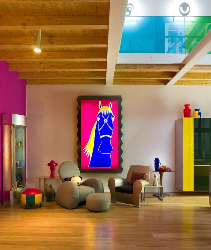 Charmant Wohntrends Wohnideen Einrichtungsideen INC Loft Mix Kunstwerk 6 Frische  Wohntrends, Die Das Jahr 2016 Rocken
