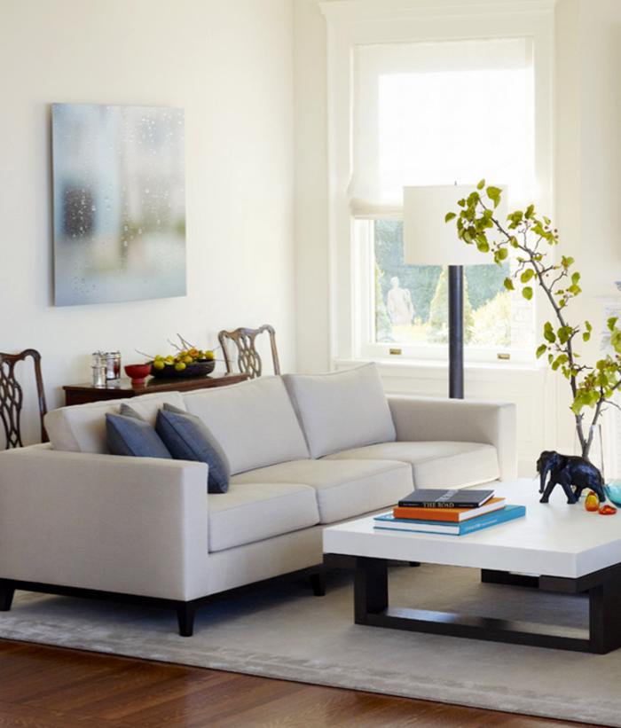 Wohnzimmer Deko Pflanzen: Pflanzen Dekoration Wohnzimmer. Wohnideen Und Trends