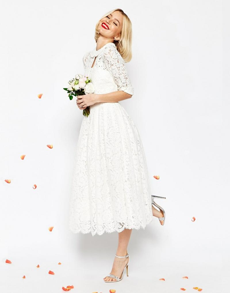 ASOS Brautmode Kleid für Standesamt elegant