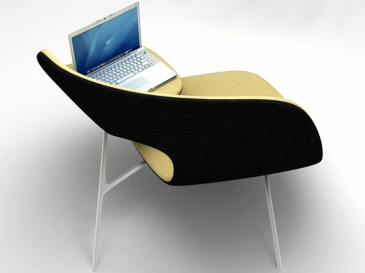 Büromöbel ergonomische Stühle innovatives Design