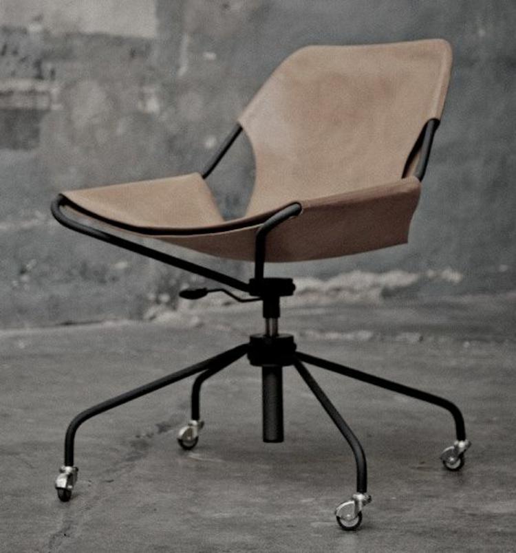 Büromöbel ergonomische Stühle minimalistisches Design