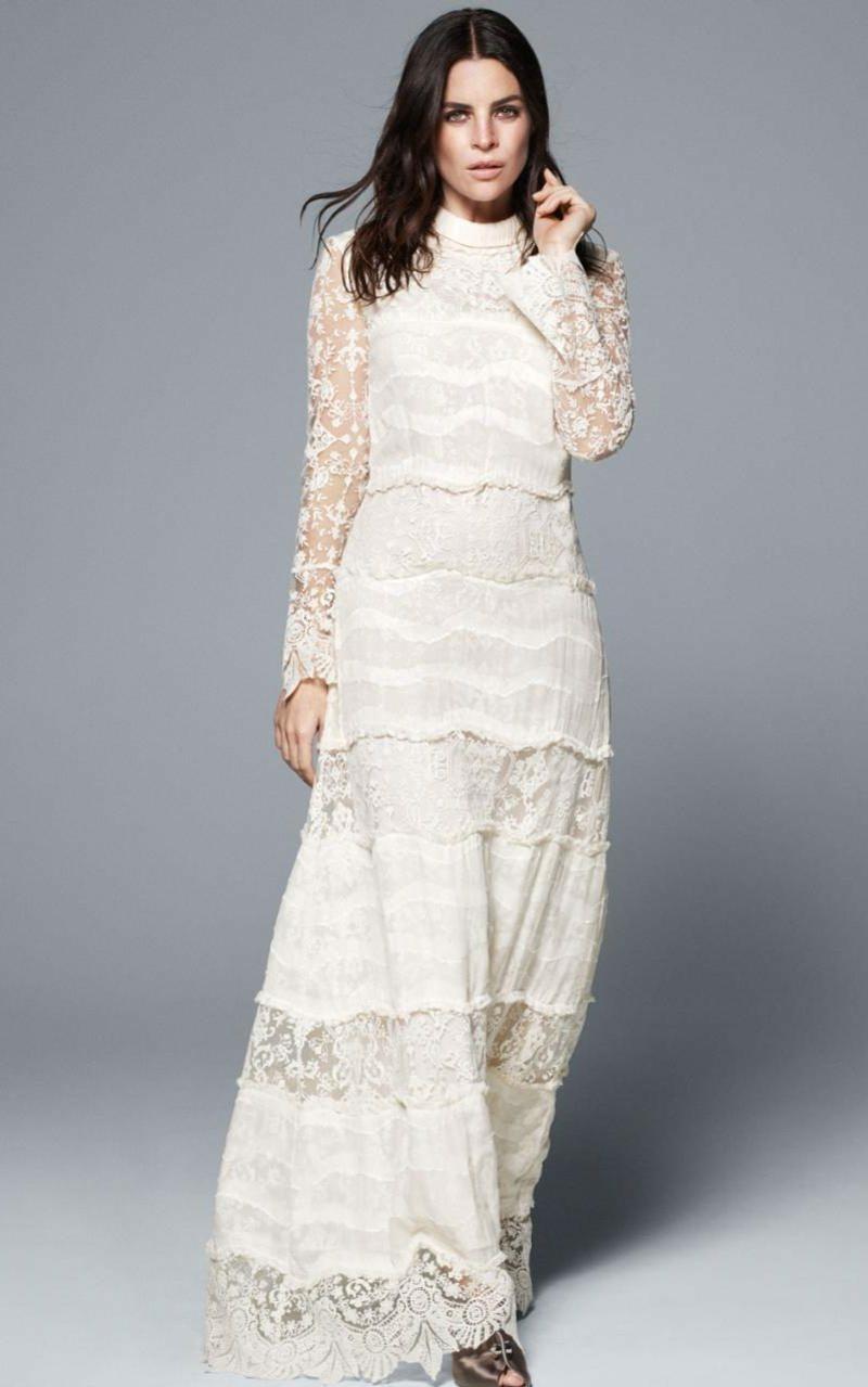 Brautmode Kleid für Standesamt Vintage Style