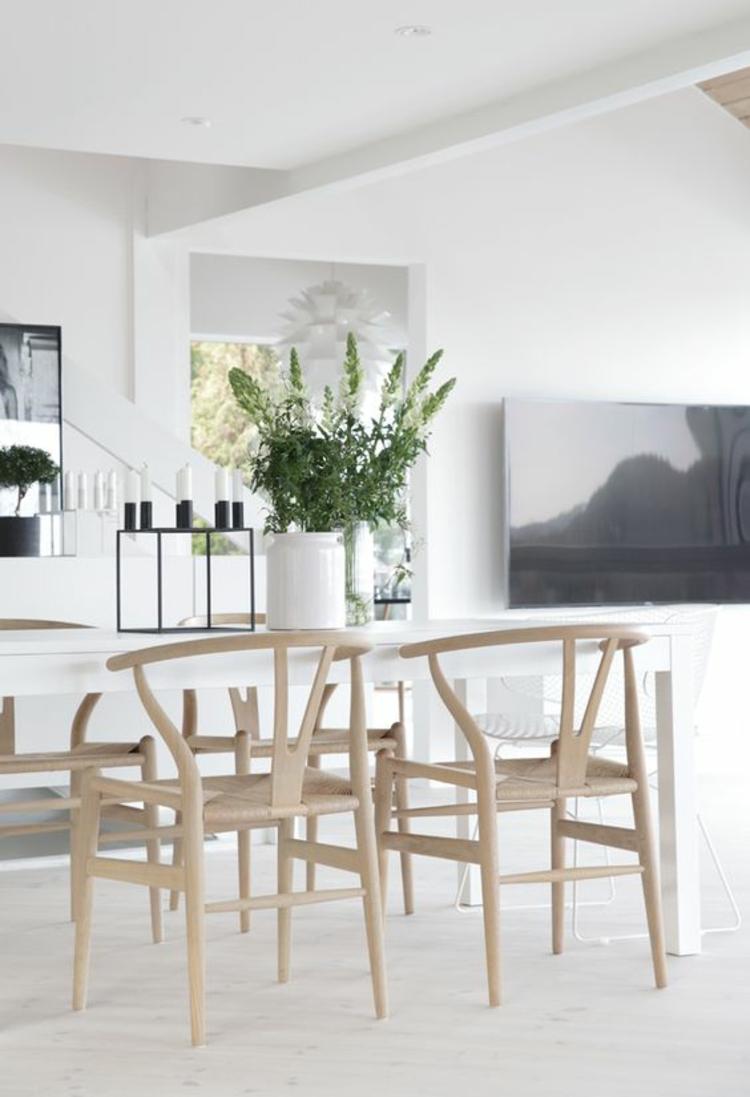 Esszimmerstühle Holz ergonomische Stühle Esszimmer gestalten