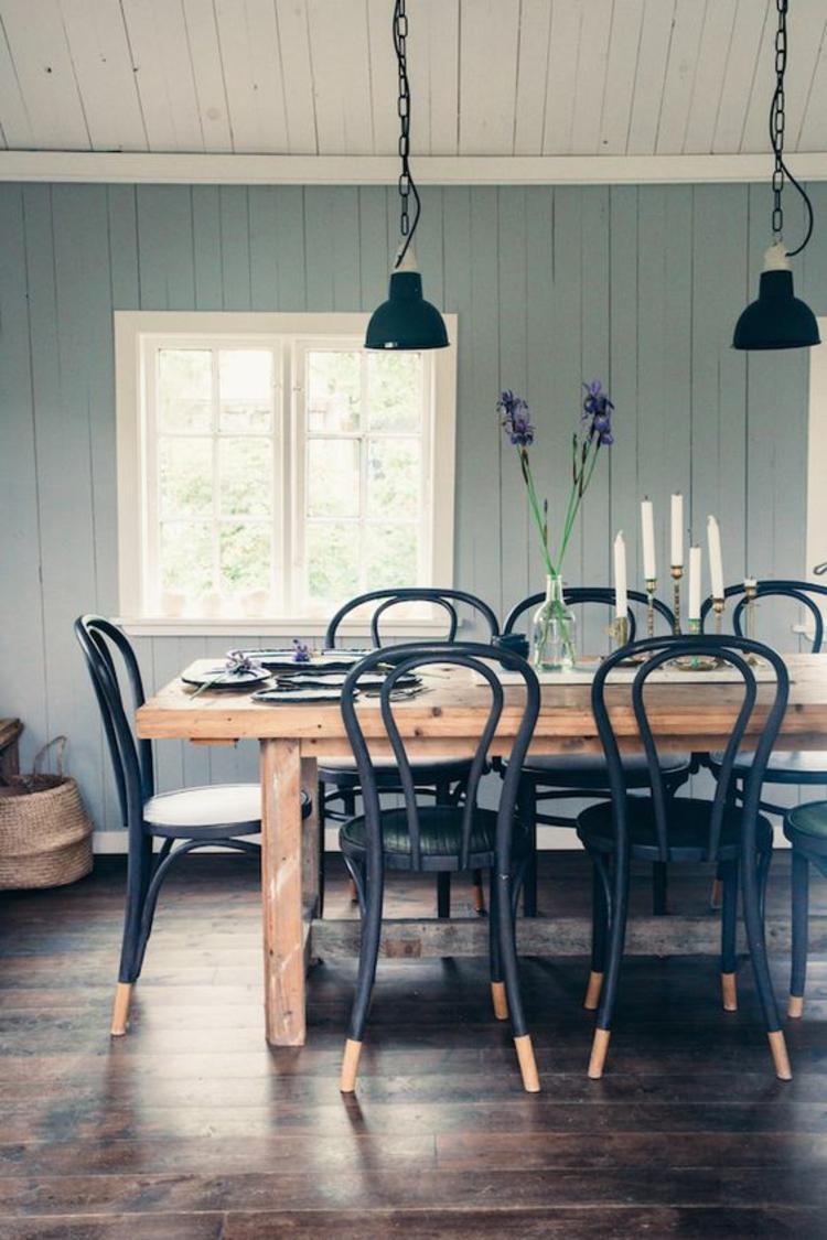 Esszimmerstühle ergonomische Stühle Holzstühle rustikales Speisezimmer