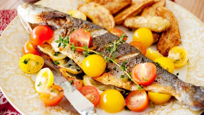Fisch zubereiten frisches fleisch fisch rezepte griechische art