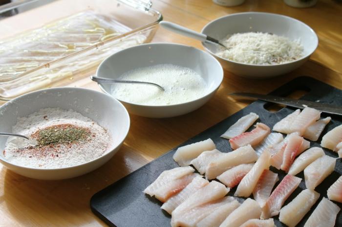 Fisch zubereiten frisches fleisch fisch rezepte kinder helfen mit