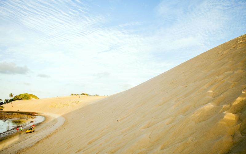 Genipabu Beach Natal Brasilien Traumstrände der Welt die schönsten Strände der Welt