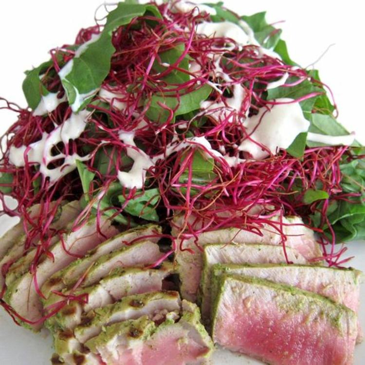 Gerichte mit Rote Beete Sprossen gesunde Ernährung Tipps