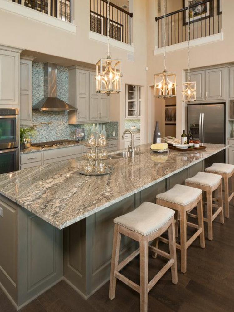 Granitarbeitsplatten Vorteile Küchengestaltung Ideen Kücheninsel