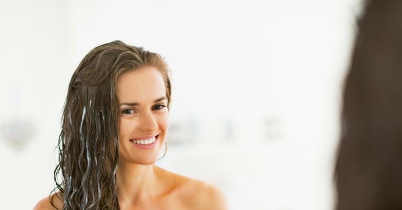 Haarpflege selber machen Haarmaske für fettige Haare
