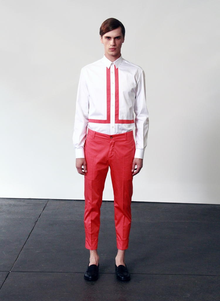 Herrenhosen 2016 Trends Farben moderne Hosen Männer rote Hose