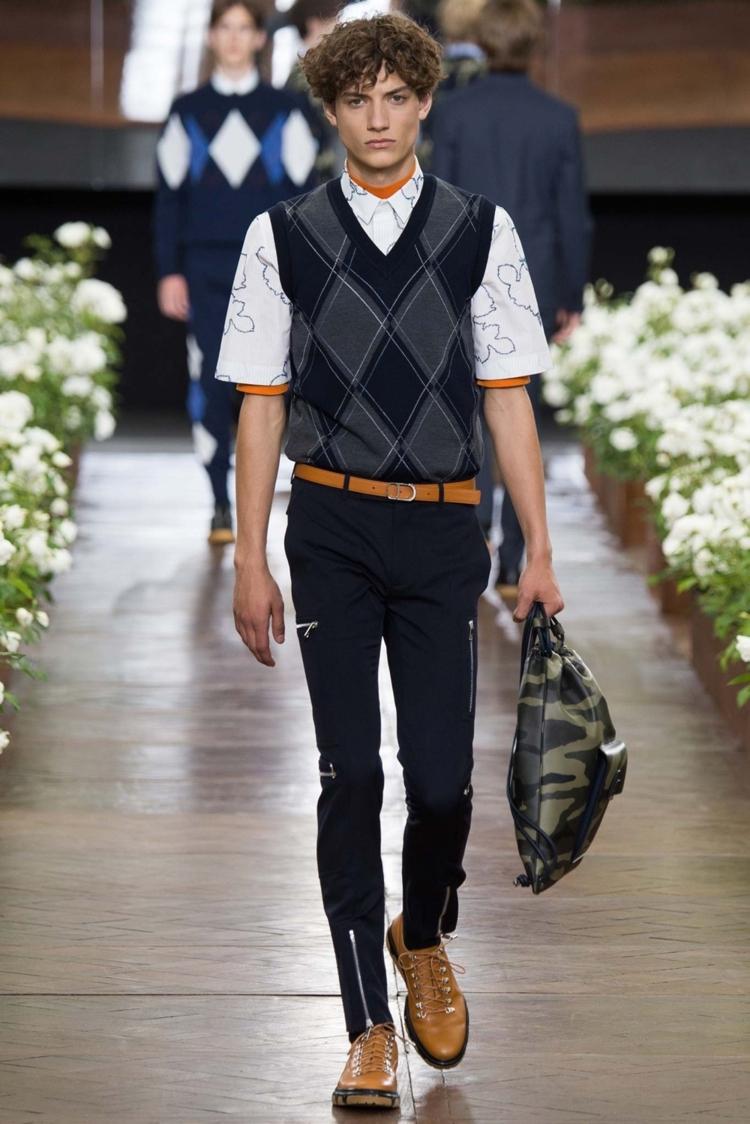 Herrenhosen 2016 Trends moderne Hosen Männer eng mit Reißverschluss