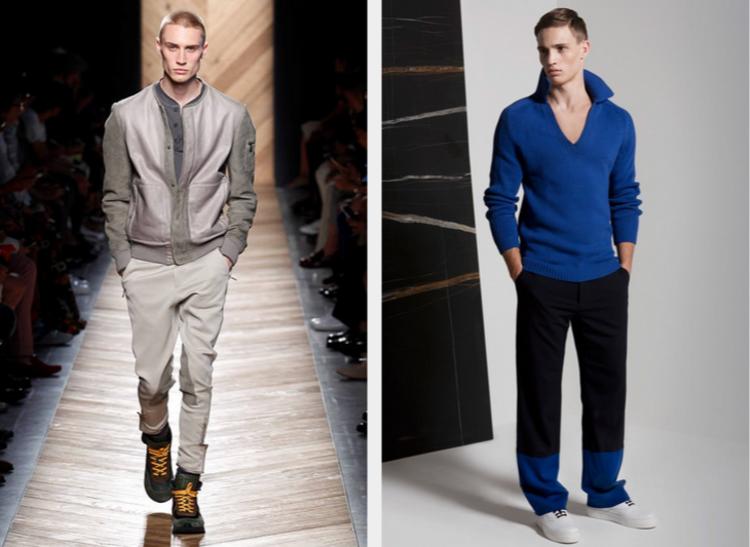 Herrenhosen Trends moderne Hosen aktuelle Laufstegmode