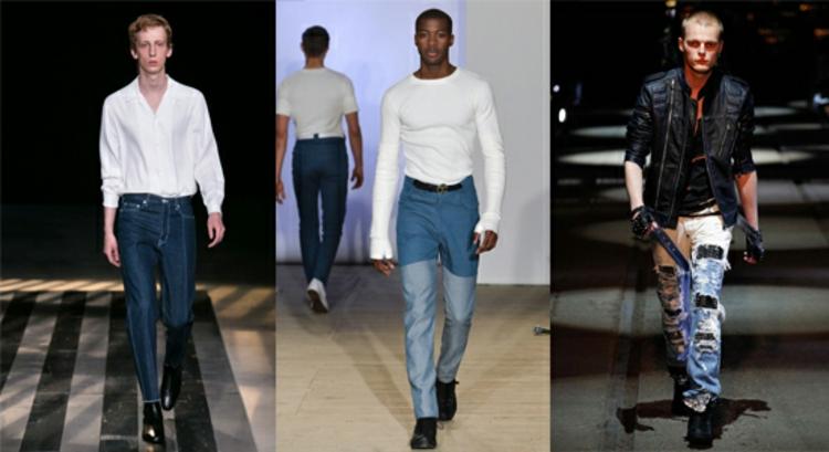 Herrenhosen Trends moderne Hosen aktuelle Männermode Jeanshose