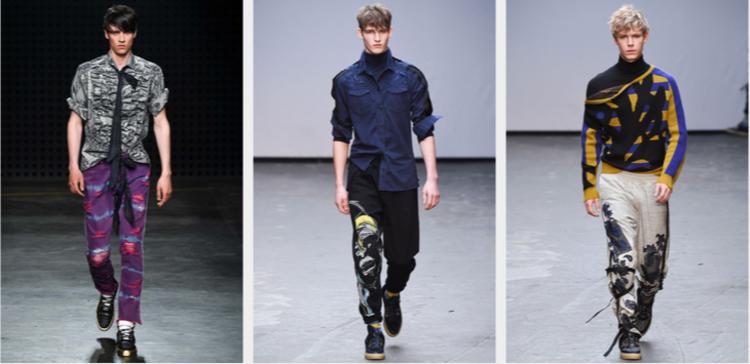 Herrenhosen Trends moderne Hosen aktuelle Männermode Straßenlook