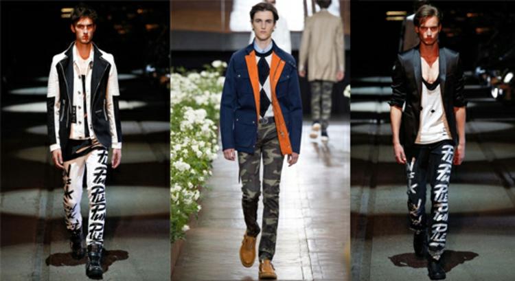 Herrenhosen Trends moderne Hosen aktuelle Männermode vom Laufsteg