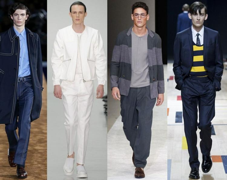 Herrenhosen Trends moderne Hosen aktuelle Männermode