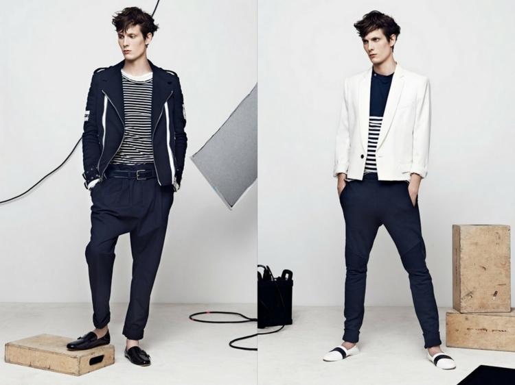 Herrenhosen Trends moderne Hosen aktuelle casual Männermode