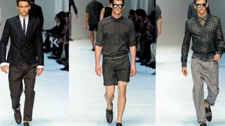 Herrenhosen kurz und lang moderne Hosen Männer