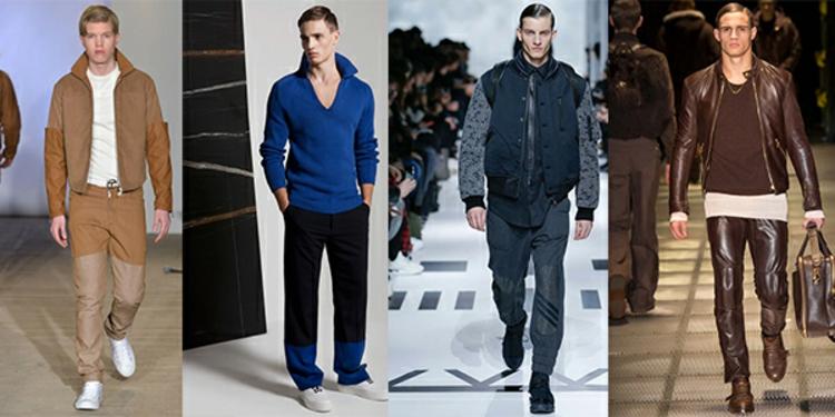 Herrenhosen Schnitte und Farben moderne Hosen Männer