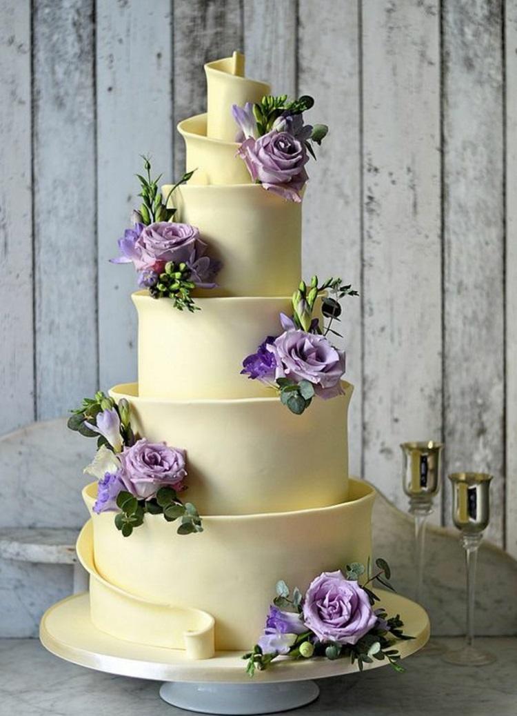 Hochzeitsfeier Ideen Gelb Hochzeitstorten Bilder
