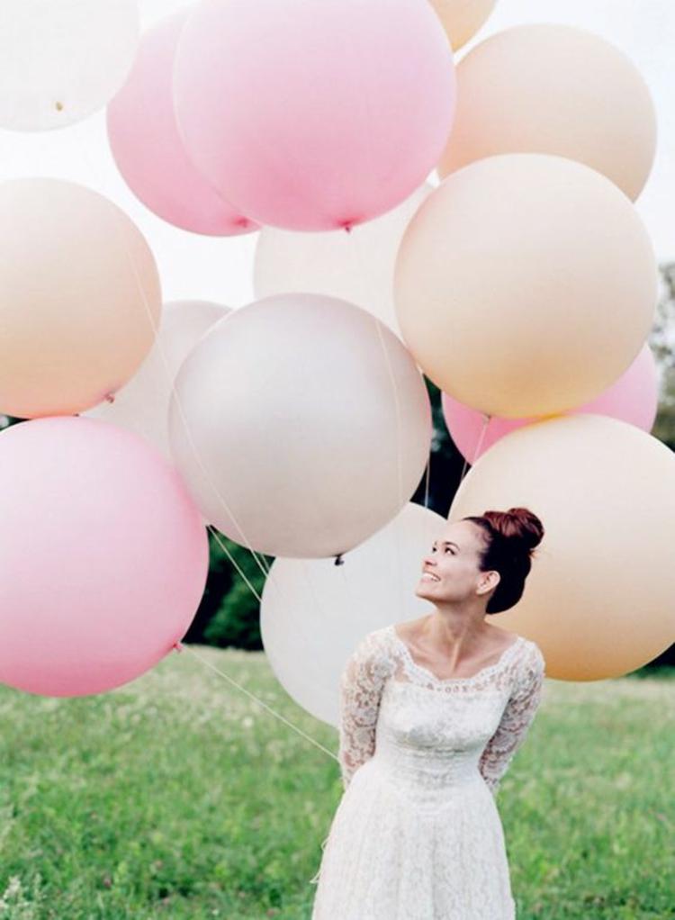 Hochzeitsfeier Ideen rosa romantische Hochzeitsdeko selber machen ...