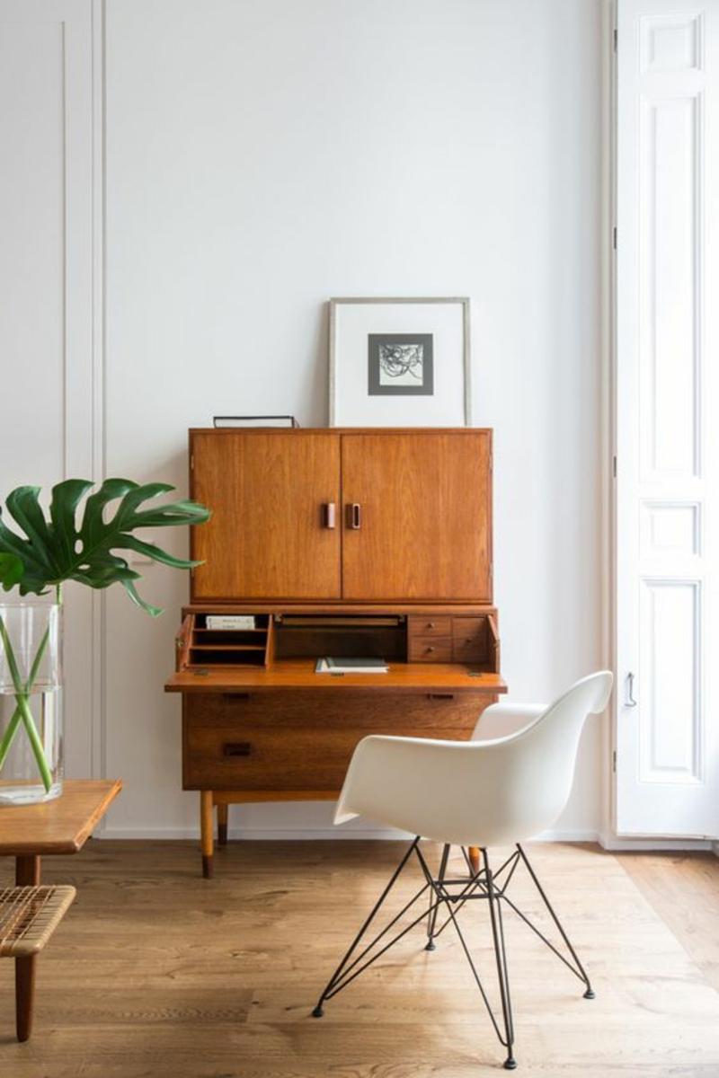 Inneneinrichtung planen Retro Wohnzimmer Möbel Sideboards