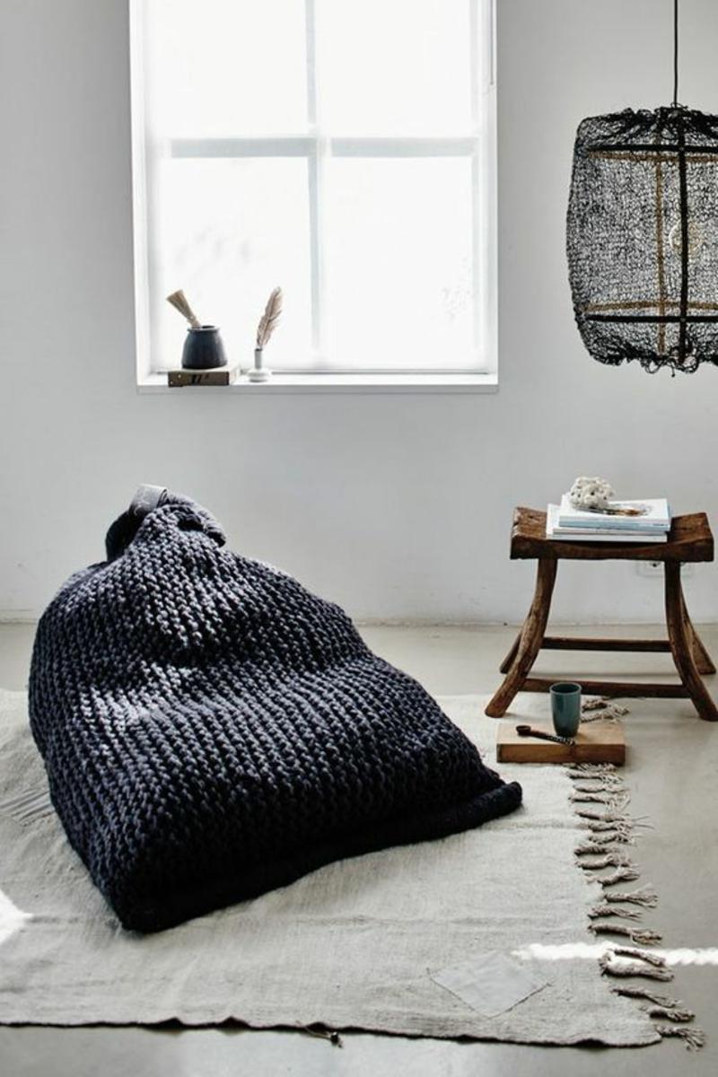 Inneneinrichtung planen Wohnzimmer Möbel Sitzkissen