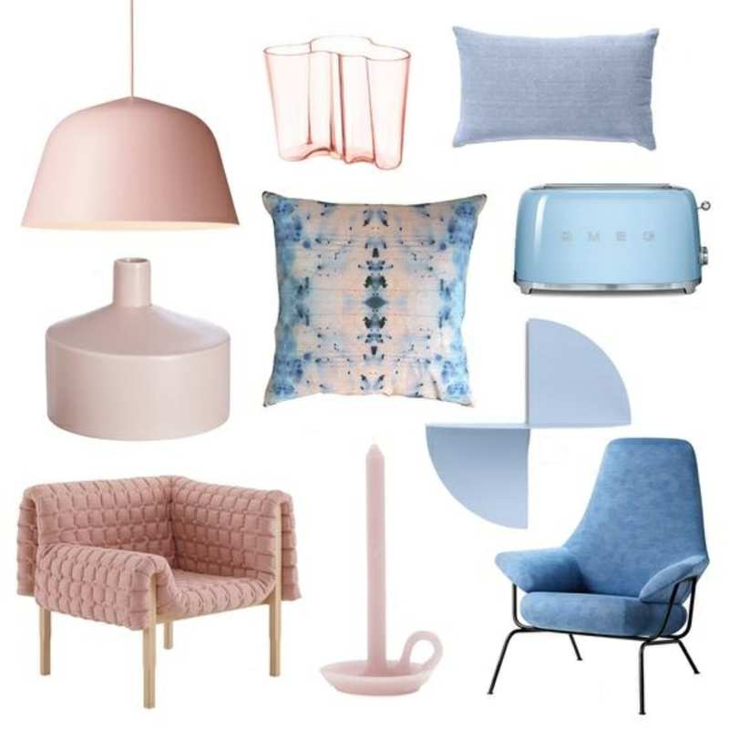 Inneneinrichtung planen farbige Möbel aktuelle Trends Farben