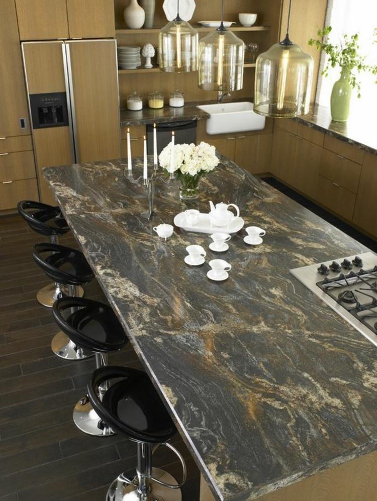 Küchenarbeitsplatten Granit Küchengestaltung Ideen Granitarbeitsplatte