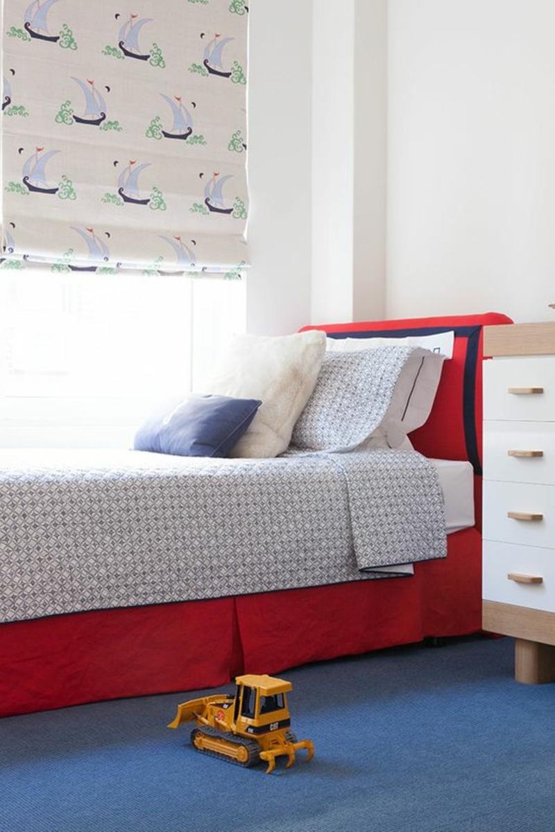 kindergardinen mit lustigen mustern beleben das kinderzimmer. Black Bedroom Furniture Sets. Home Design Ideas