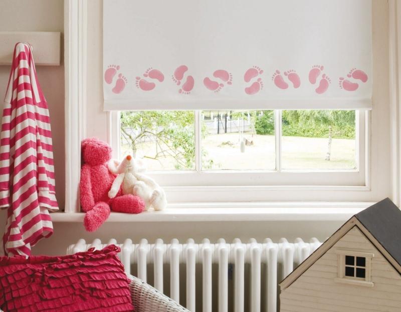 Kinderzimmer Fenster Jalousien oder Fensterrollo