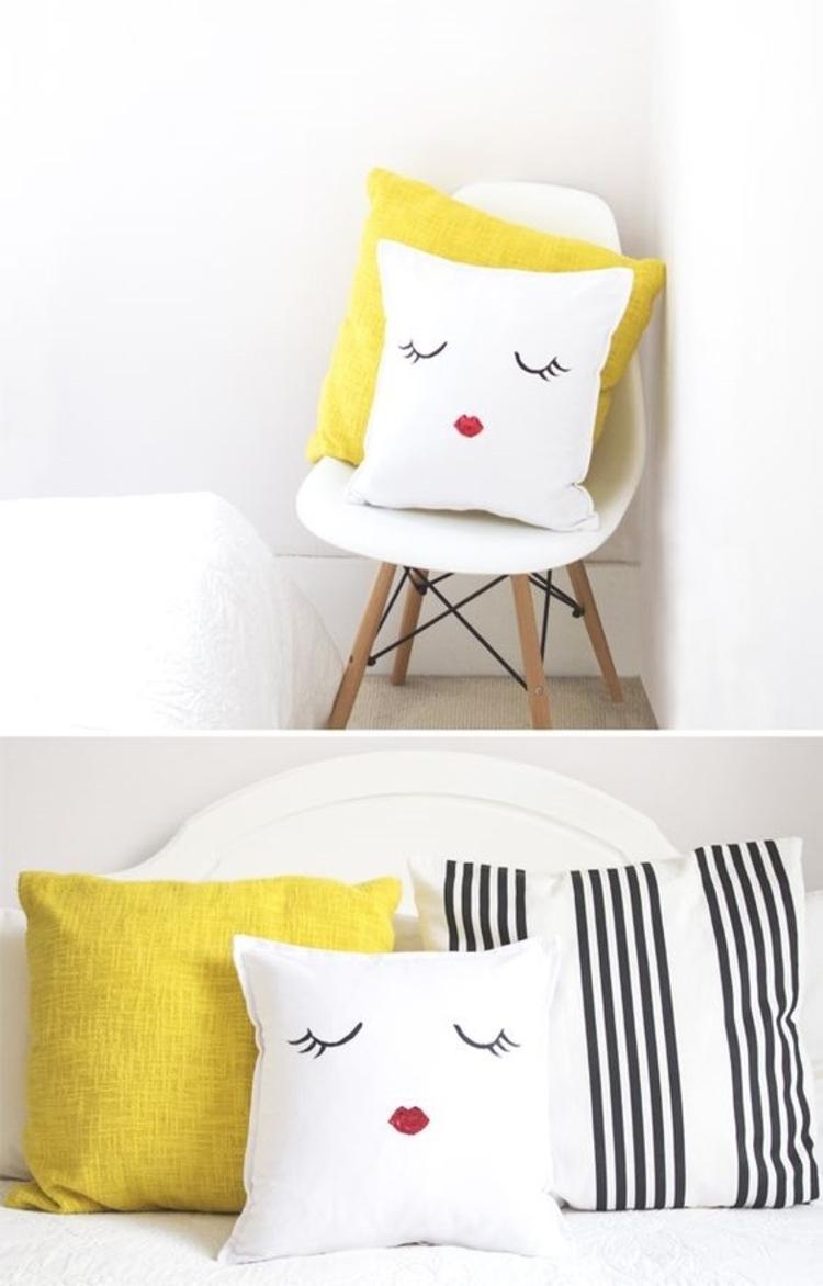 kissenbez ge n hen ist eine leichte aufgabe diy projekte. Black Bedroom Furniture Sets. Home Design Ideas