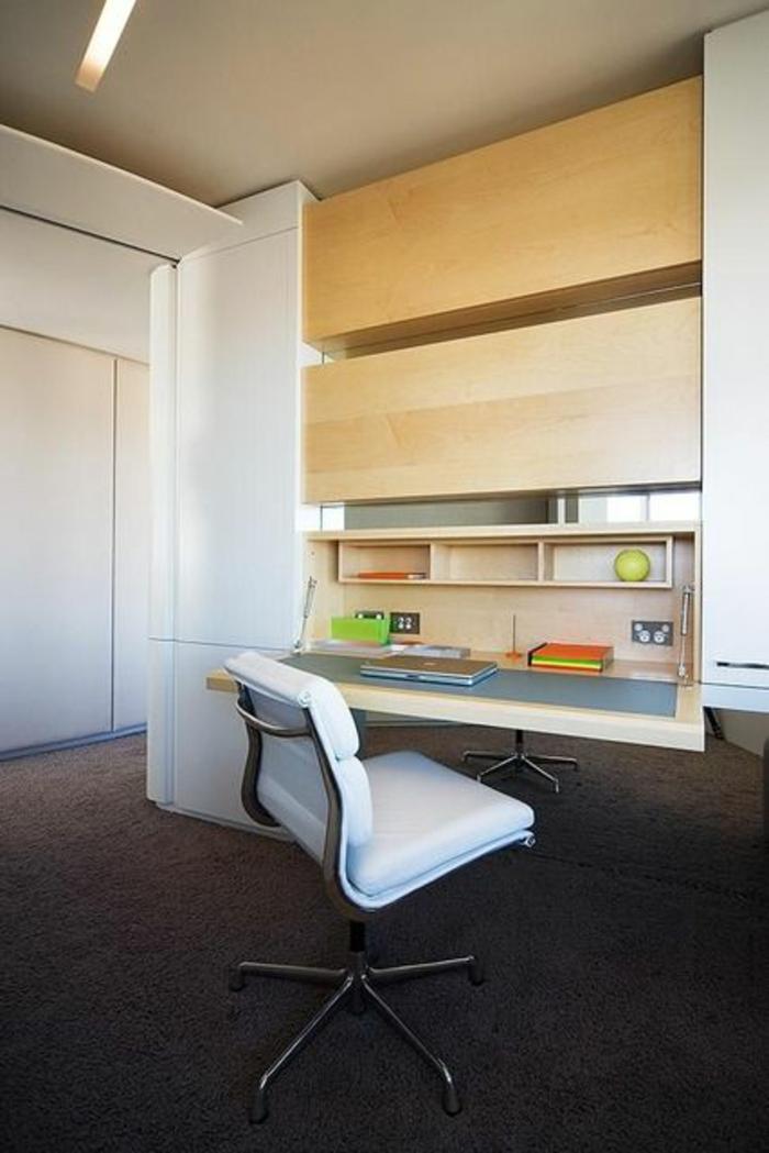 Klappschreibtisch kleines Home Office Büromöbel Platz sparen
