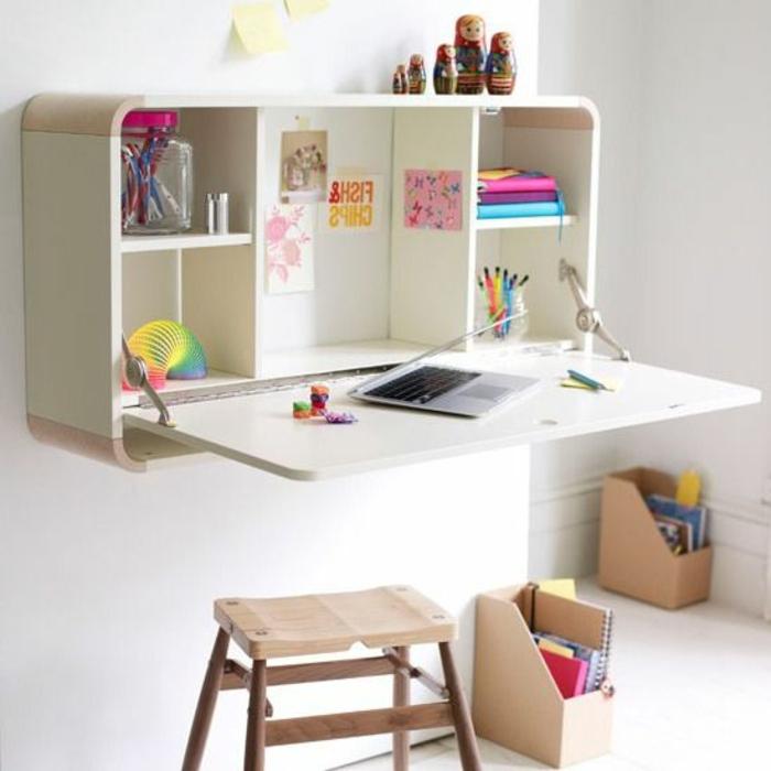 Klappschreibtisch Im Kleinen Home Office