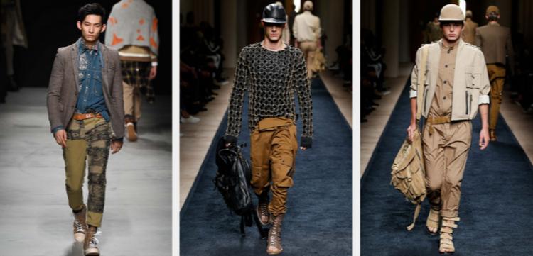Männerhosen Trends moderne Hosen Herrenmode