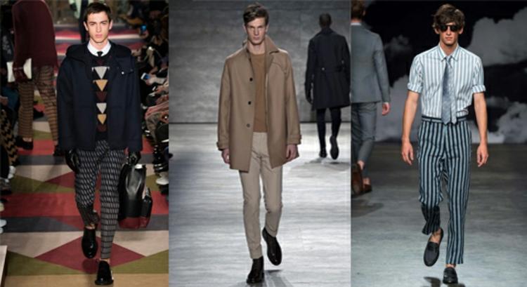 Männerhosen Trends moderne Hosen aktuelle Herrenmode
