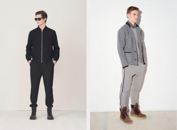 Männerhosen moderne Hosen aktuelle Herrenmode Trends