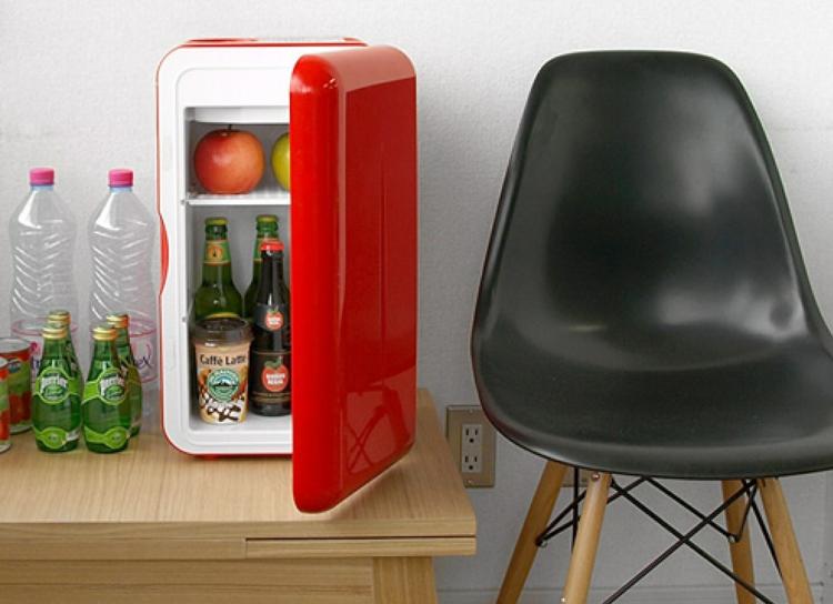 Mini Kühlschrank Retro Kühlschränke Rot
