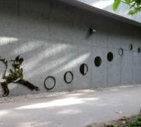 Moos Graffiti – Streetart auf umweltfreundlicher Weise