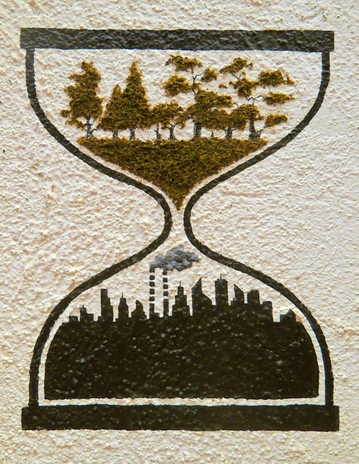 streetart künstler ornament politisch